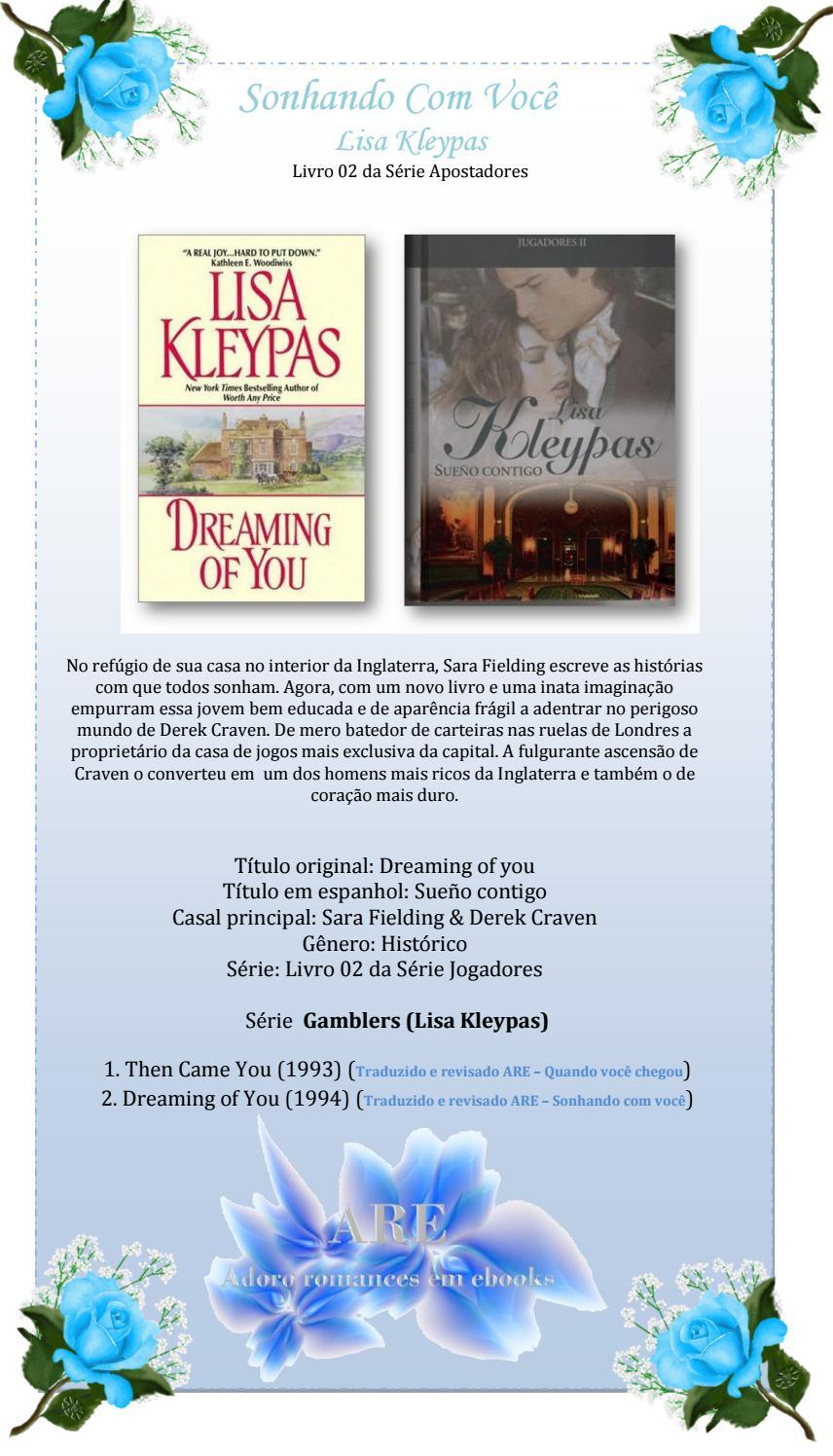 52704b902 Sonhando com Você - Série Apostadores - Livro 2 - Lisa Kleypas by Nina  Bueno Lahóz Moya - issuu