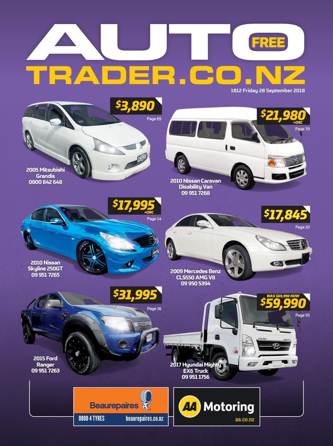 Autotrader Nz Issue 1812 By Autotradernz Issuu Toyota Landcruiser With 22 Inch Custom Rims