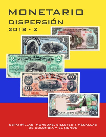 8dcd545c1987 Catalogo Monetario 2018-1 by MONETARIO COLOMBIA - issuu
