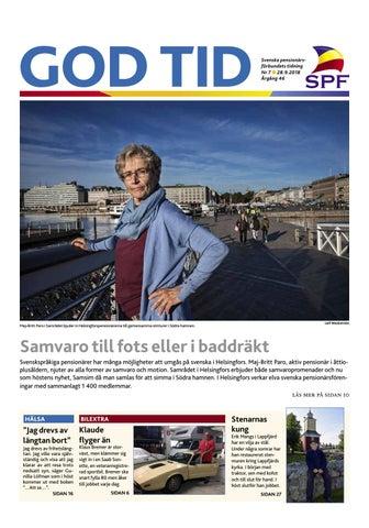 various colors c390c e35fd God Tid 7 2018 by Svenska pensionärsförbundet, God Tid - issuu