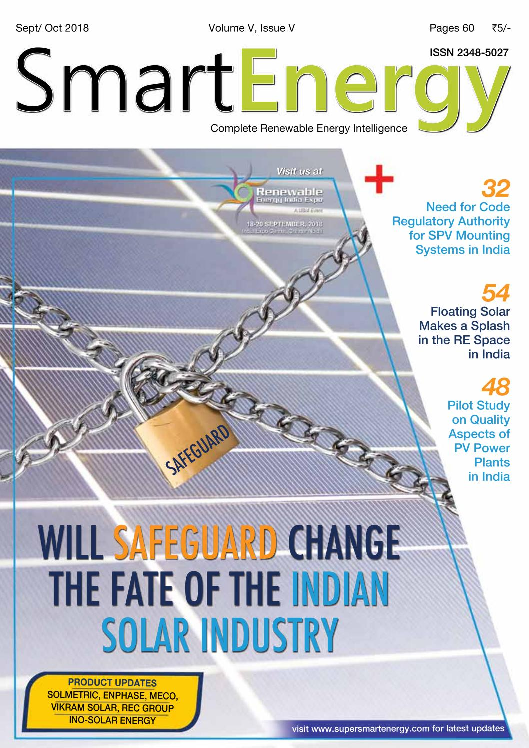 Smart Energy Sept-Oct 18 Issue by SmartEnergy - issuu