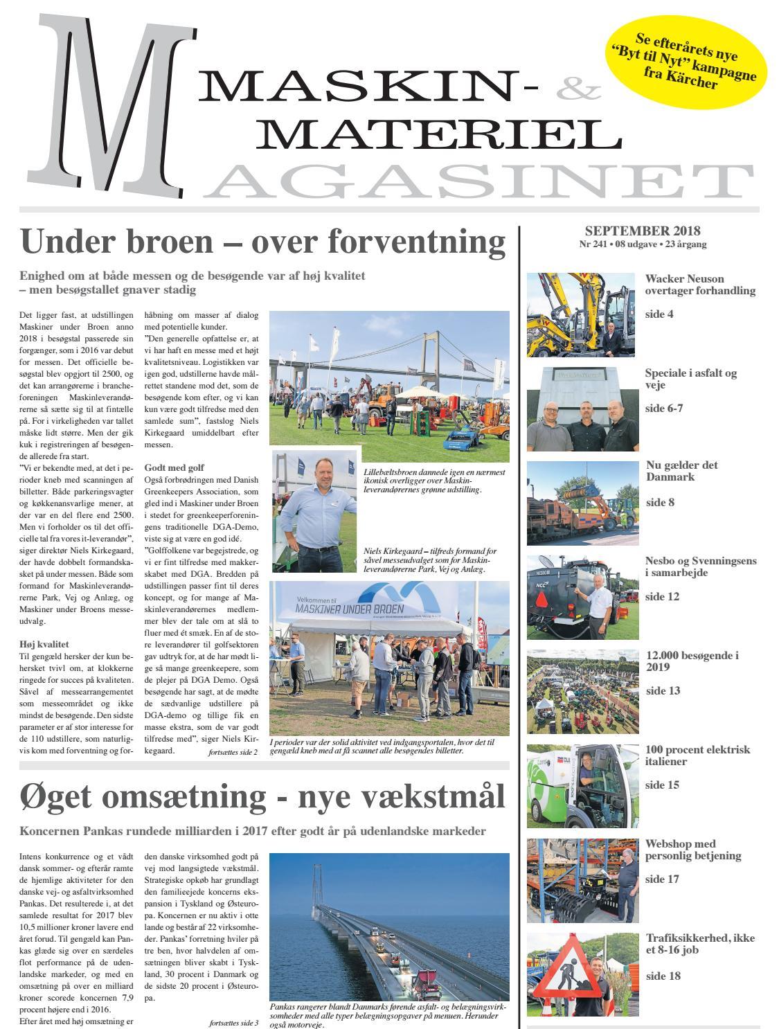 Mmm September 2018 By Maskin Materiel Magasinet Issuu