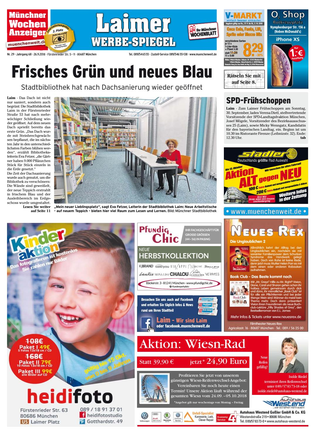 d7a8c2d0d69c3 KW 39-2018 by Wochenanzeiger Medien GmbH - issuu