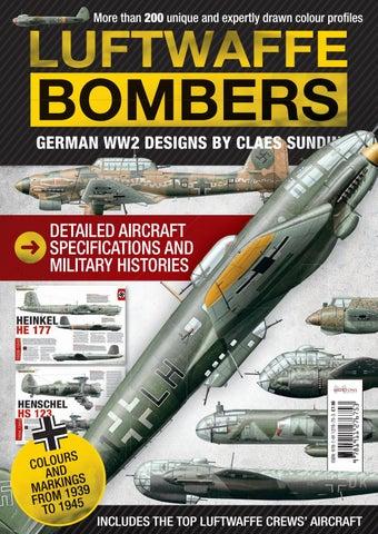 Luftwaffe Bombers - German WWII designs by Mortons Media Group Ltd