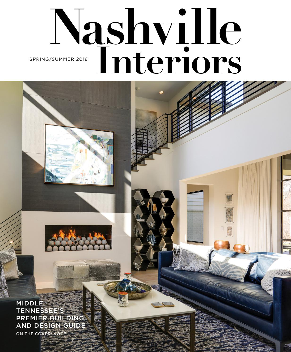 Nashville interiors spring summer 2018 by nashville interiors issuu