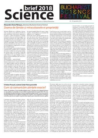 Science brief 2018 by Humanitas Multimedia - issuu