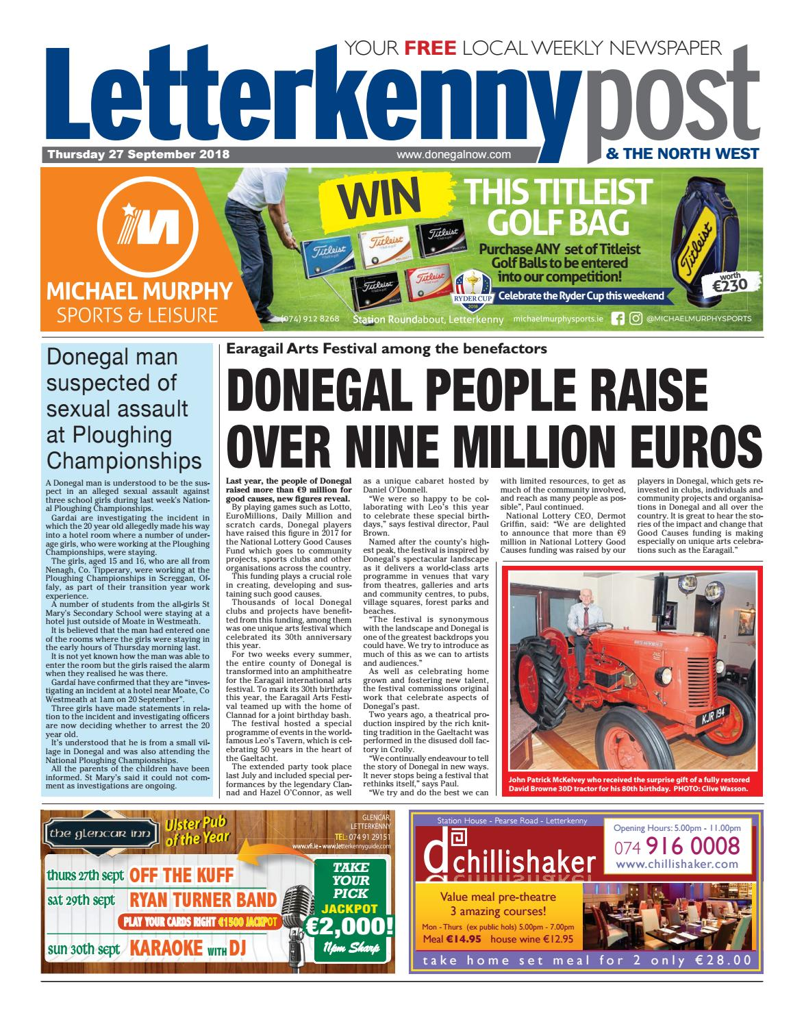 winning streak donegal man misses becoming a millionaire by