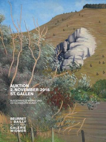 Ausgewahlte Werke Und Ostschweizer Kunst By Beurret Bailly Widmer Auktionen Issuu