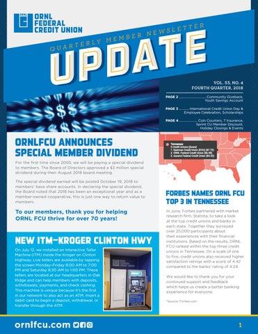 Ornlfcu Vol 53 No 4 By Ornl Federal Credit Union Issuu