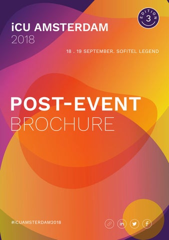 Post-Event Brochure by iCU Events International Limited - issuu
