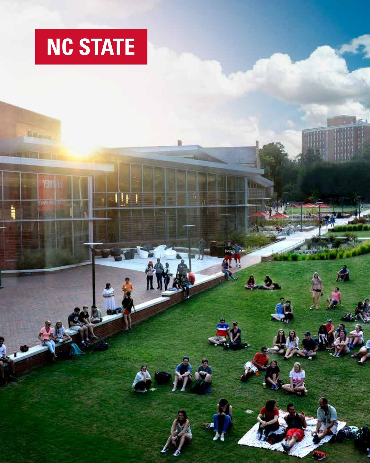 Nc State On Campus Brochure 2018 2019 By Nc State Enrollment Management And Services Issuu
