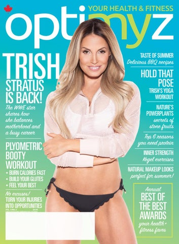 The Trish Stratus Issue June July 2018 Optimyz Magazine