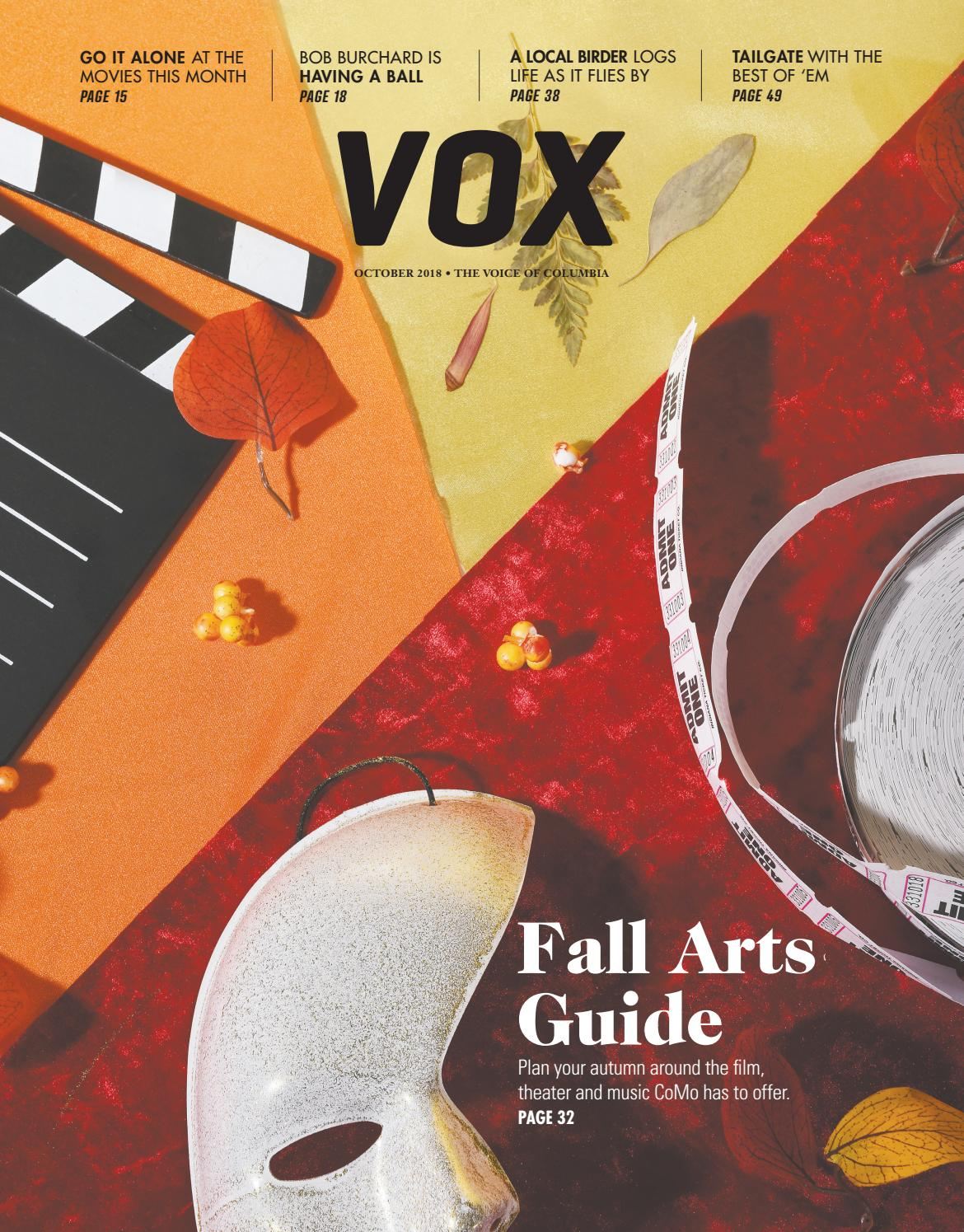 Vox Magazine October 2018 by Vox Magazine - issuu