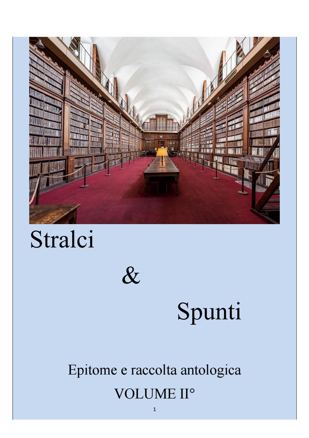 05fe9462c8 Stralci & Spunti VOLUME II° by stralciespunti - issuu