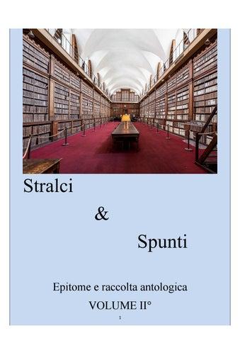 460964805890 Stralci   Spunti VOLUME II° by stralciespunti - issuu