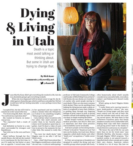 Page 15 of Dying & Living in Utah