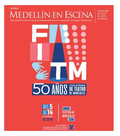 2a6cc70800 Periódico Medellín en Escena no. 57 by Medellín en Escena - issuu
