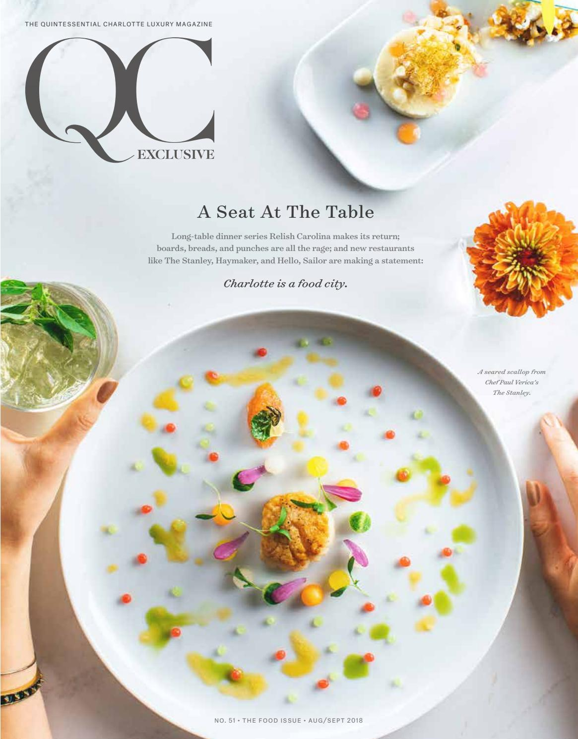 Qc Exclusive No 51 2018 Issue 6 Food Issue By Qc Exclusive Magazine Issuu
