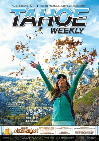 September 27 to October 3, 2018 by Tahoe Weekly - issuu
