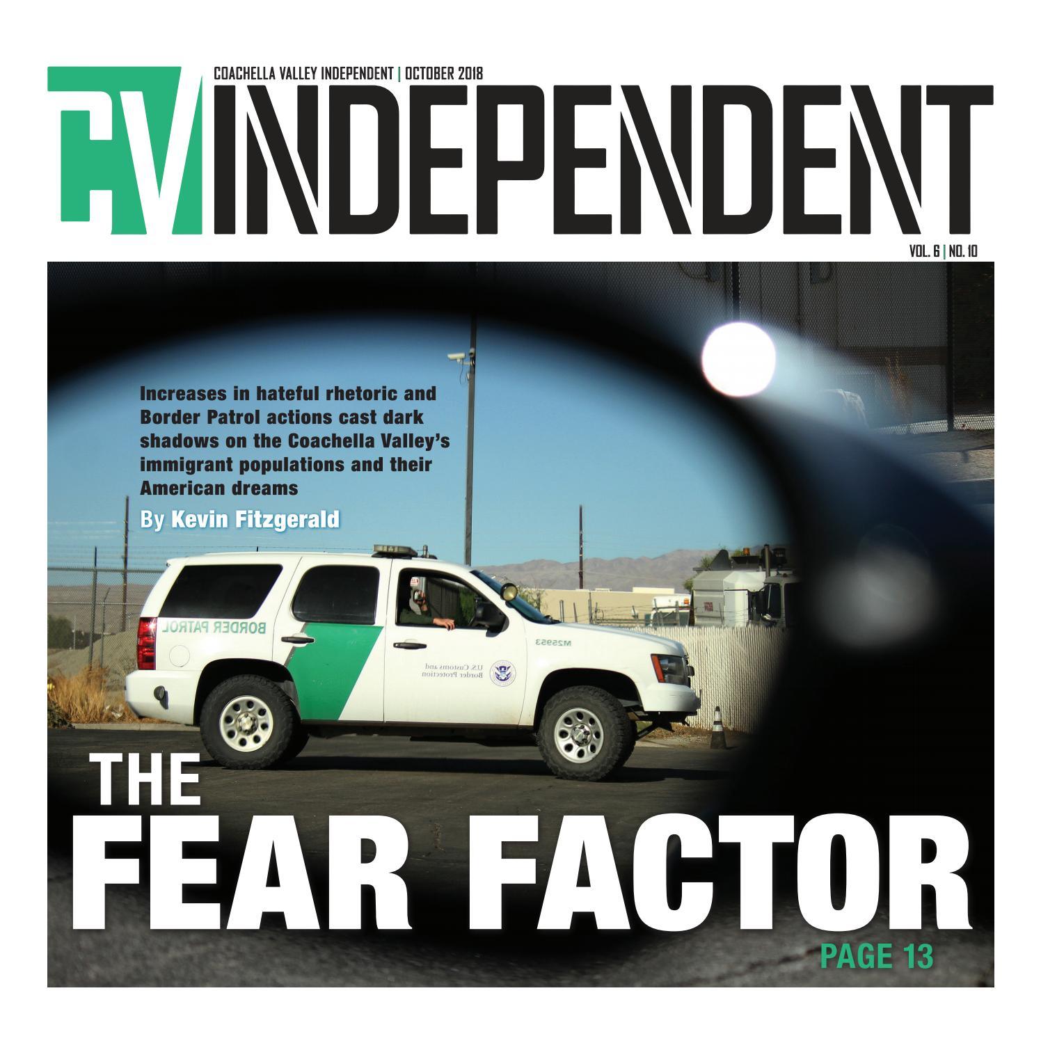 Coachella Valley Independent October 2018 by Coachella Valley