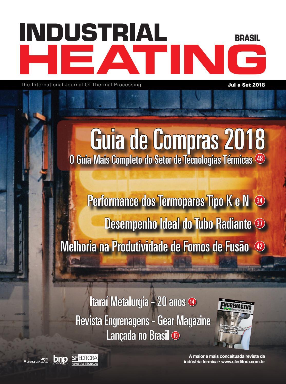 0a37380d3a397 Revista Industrial Heating - Jul a Set 2018 by SF Editora - issuu