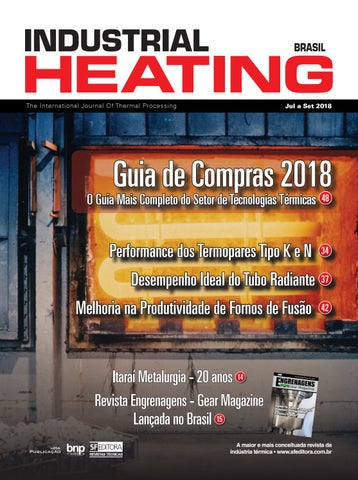 493009f2fa0f1 Revista Industrial Heating - Jul a Set 2018 by S+F Editora - issuu