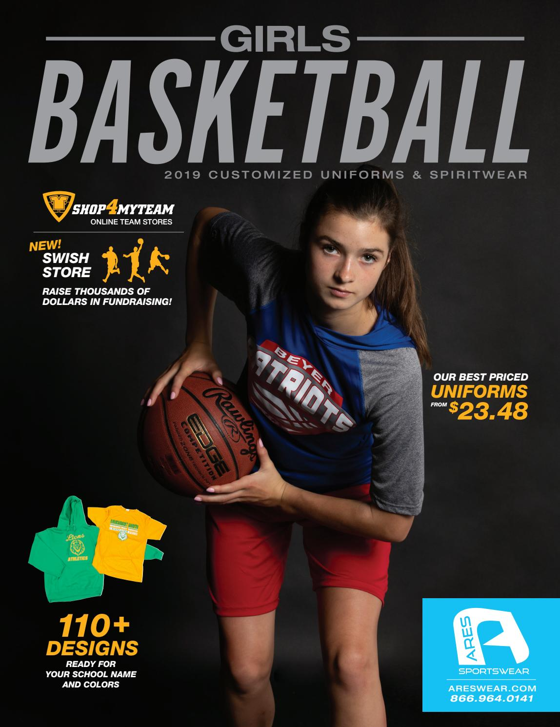 buy popular e4651 18e92 2019 Ares Sportswear Girls Basketball Catalog
