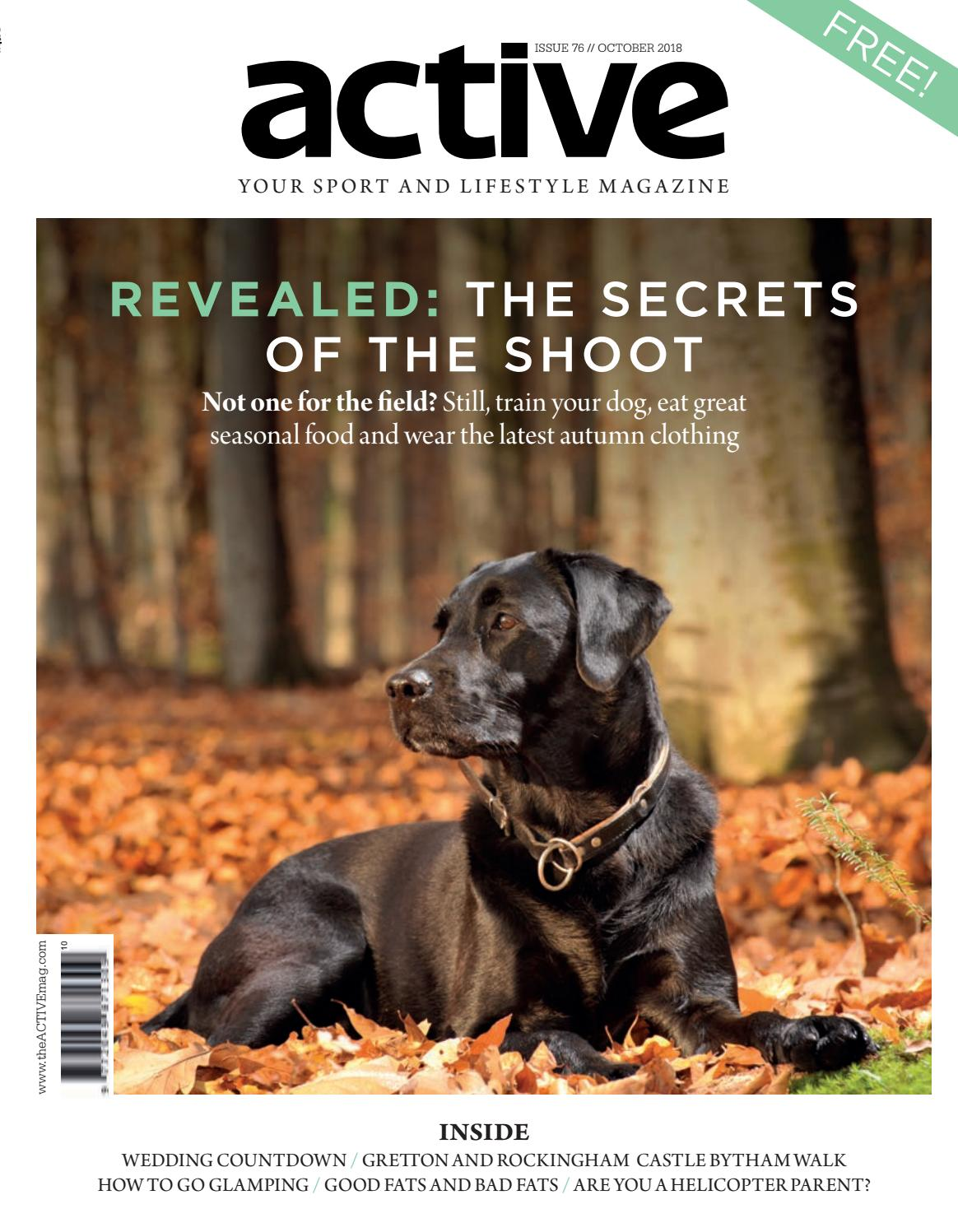 806aa4a520e0 Active Magazine    Stamford   Rutland    October 2018 by Active ...