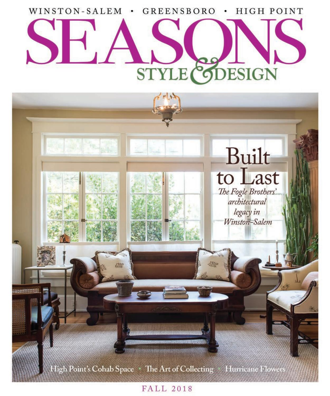 Arbor Acres Winston Salem Nc: Seasons Fall 2018 By O.Henry Magazine