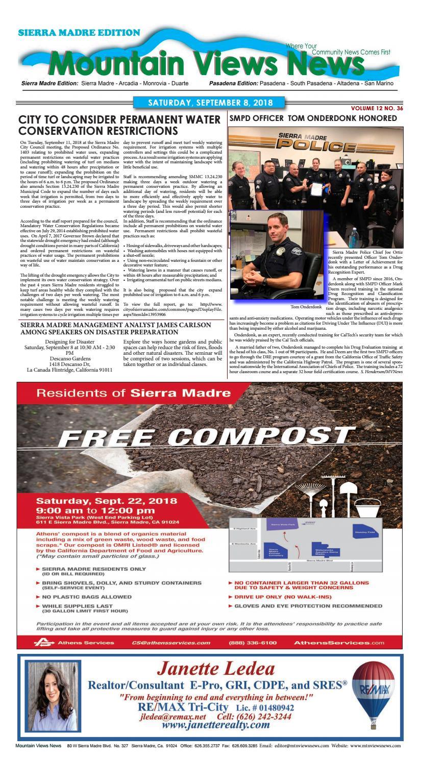 Mountain Views News 090818 by Mountain Views News - issuu