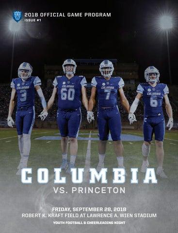 fd1689fb Columbia Football Game Program (Sept. 28, 2018) by Columbia ...
