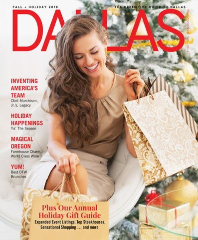 94025471417b Dallas Hotel Magazine Fall Holiday Issue by Dallas Hotel Magazine ...