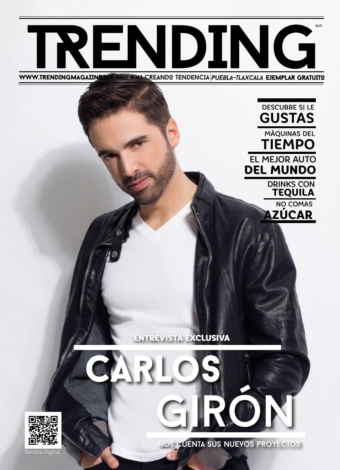 b4826fe9661f Carlos Girón by Trending Magazine - issuu