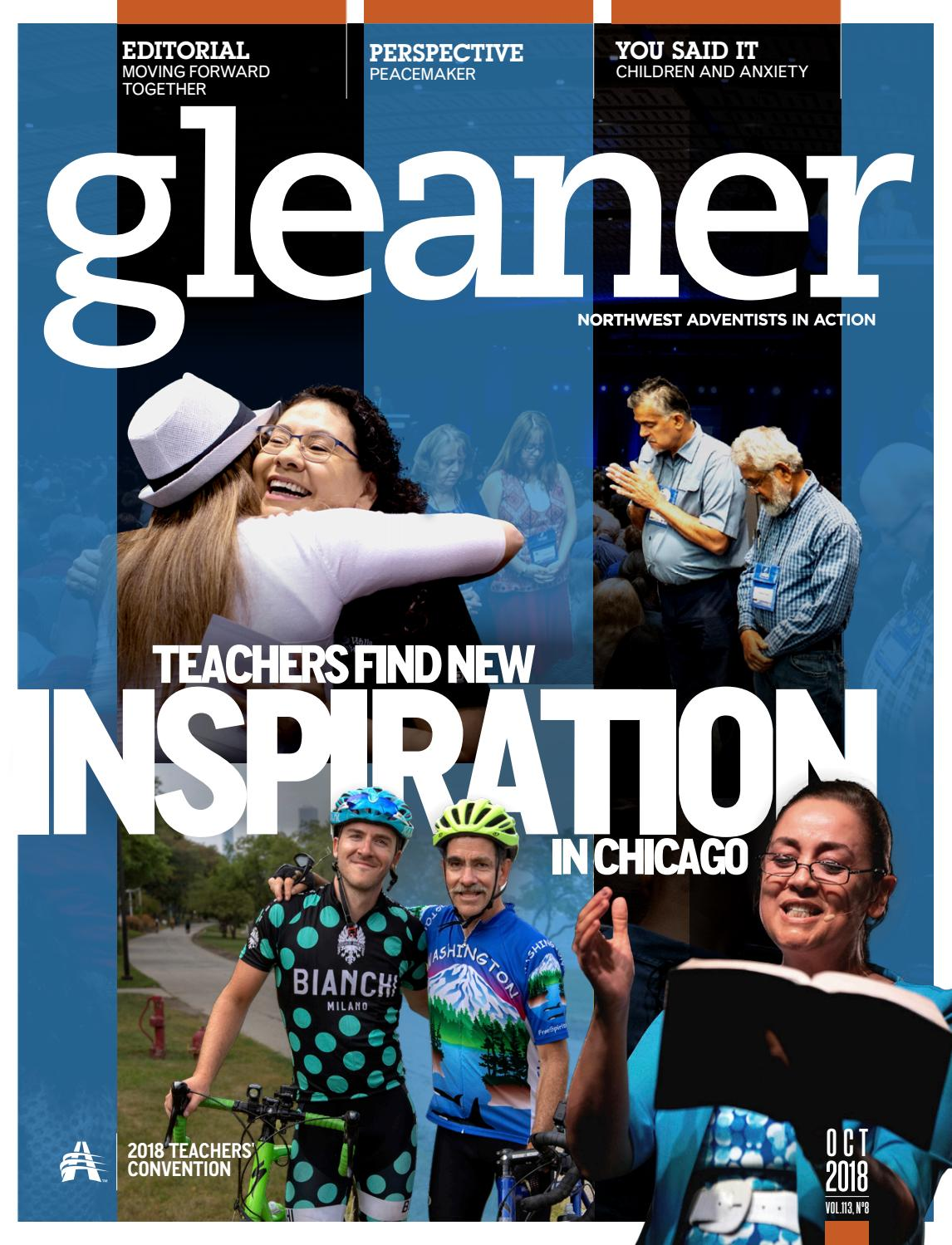 Gleaner – October 2018 by Gleaner - Northwest Adventists in
