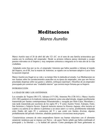 Las Meditaciones By Tuespacio Issuu
