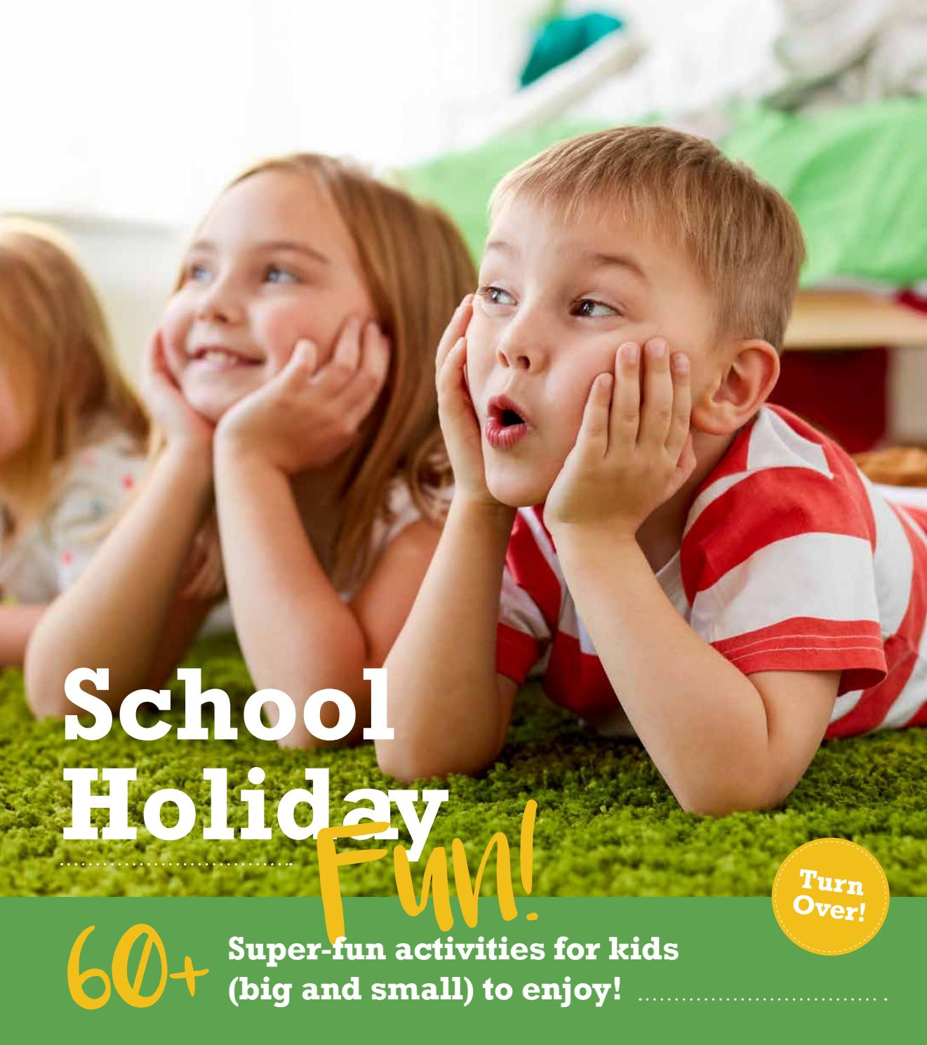 intouch Magazine October School Holidays 2018 Feature by