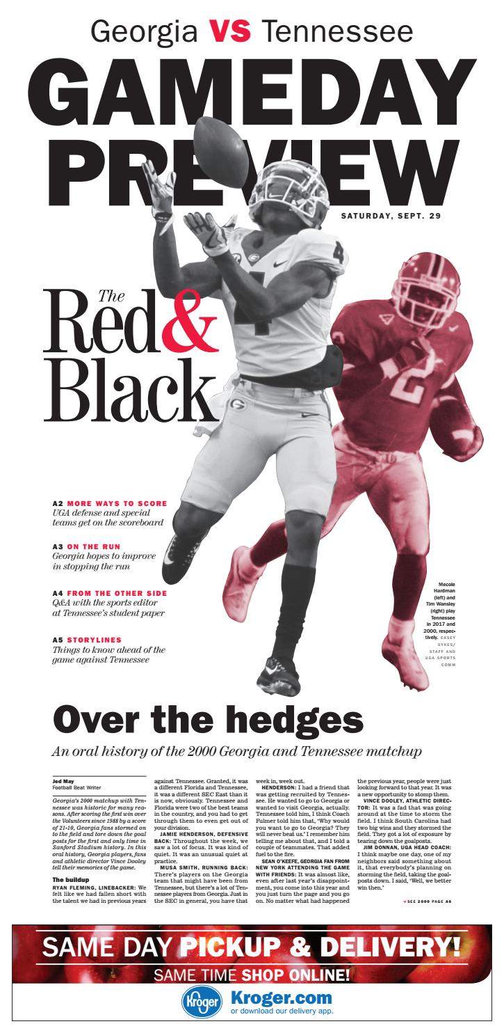 Thursday, September 27, 2018 Edition of The Red & Black by