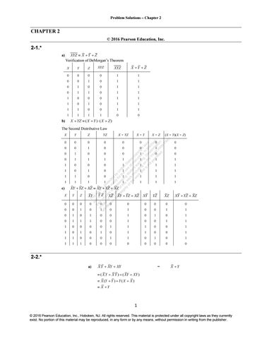 logic and computer design fundamentals pdf free download