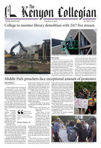 9 27 18 by The Kenyon Collegian - issuu