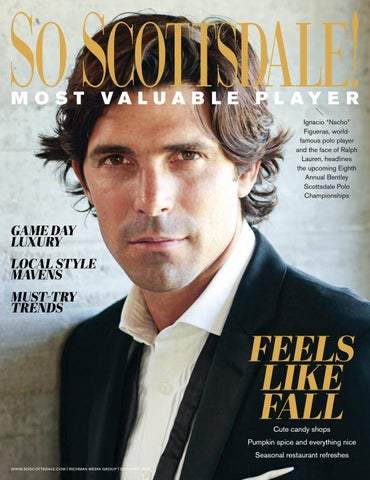 """ab0ec990 M O S T VA L U A B L E P L AY E R Ignacio """"Nacho"""" Figueras, worldfamous  polo player and the face of Ralph Lauren, headlines the upcoming Eighth  Annual ..."""