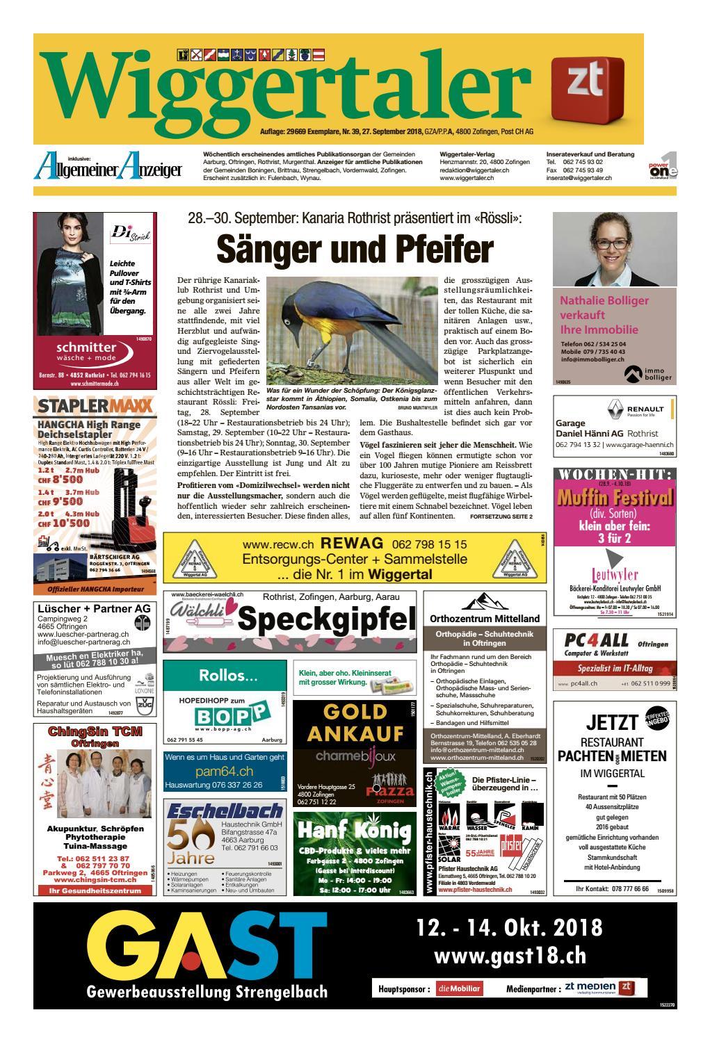Wiggertaler 3918 By Zt Medien Ag Issuu