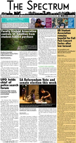 The Spectrum Vol  68 No  8 by The Spectrum Student Periodical - issuu