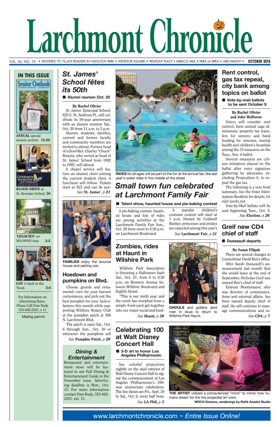 e7c291cb4a67 LC Section One 10 2018 by Larchmont Chronicle - issuu