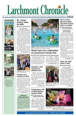 LC Section One 10 2018 by Larchmont Chronicle - issuu
