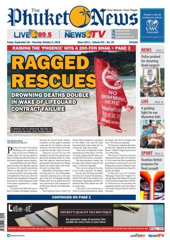 91e5ce8252de The Phuket News 28 September 2018 by The Phuket News - issuu