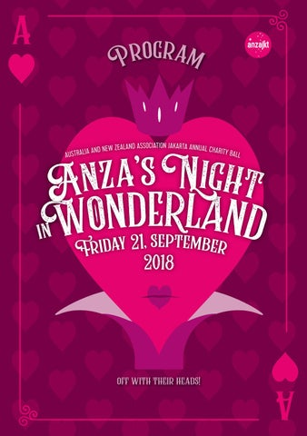 first rate 1c377 b1417 ANZA Ball 2018 - Event Program