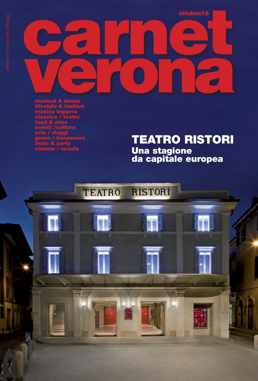 Carnet Verona Ottobre 2018 by Staff CarnetVerona - issuu 134e1d7ae0aca