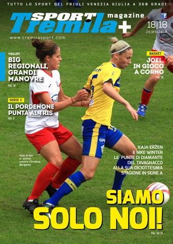 n° 18 TremilaSport 26-09-2018 by Tremilasport - issuu a675b97aa235