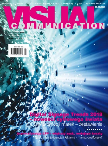 2f36bdf340ca1b Visual Communication 6-7/2018 by Redakcja EMG - issuu