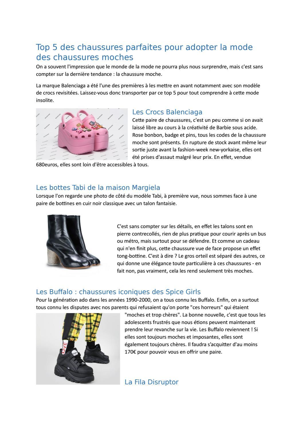 online shop united kingdom cheaper Top 5 des chaussures moches de la rentrée 2018 by marion ...
